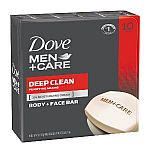 10-Count Dove Men + Care Body and Face Bar $8