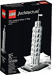 LEGO Architecture The Leaning Tower of Pisa $30