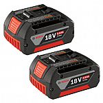 Bosch 2-Pack 18-Volt 3.0-Amp Hours Lithium Power Tool Batteries $59, YMMV