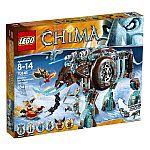LEGO Chima 70145 Maula's Ice Mammoth Stomper Building Toy $49
