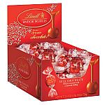 Lindt LINDOR Milk and Caramel Milk Chocolate Truffles, 60 Count Box $9.53 and more