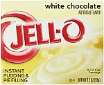 6-Pk Jell-O Instant Pudding and Pie Filling, White Chocolate, 3.3 oz. $1.02