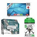 """Vizio 43"""" M43-C1 4K TV + Xbox One 500GB Quantum Break Bundle + Controller Stand $600"""