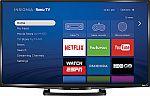 "32"" Insignia NS-32DR420NA16 1080p Roku Smart LED HDTV $170 and more"