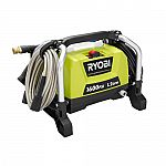 Ryobi 13 Amp 1,600 PSI 1.2 GPM Electric Pressure Washer (Refurbished) $70