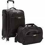 Samsonite Elite Spinner & Laptop Boarding Bag Luggage Set $90