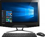 Lenovo IdeaCentre AIO FHD Touchscreen Desktop (Core i7-6700 12GB 120GB+1TB SSHD GTX 950A Win10) $900