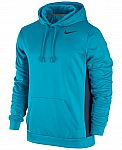 Nike Men's KO 3.0 Therma-FIT Pullover Hoodie  (blue lagoon or volt) $26 Shipped