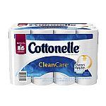 36 Rolls Cottonelle CleanCare Family Roll Toilet Paper Bath Tissue $16.49