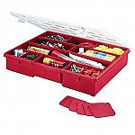 "Stack-On 14-1/2"" 17 Compartment Storage Box $5"