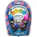 MAXELL-HEADPHONES 190338 MAXELL KHP2 KIDS SAFE $9.97