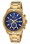 Invicta 19223 Men's Specialty Chronograph 18K Gold Watch $60