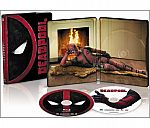 Deadpool, SteelBook, Blu-ray, Digital HD Copy $20