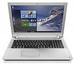 "Lenovo IdeaPad 500 15.6"" FHD Laptop (Core i7-6500U 8GB 1TB, AMD Radeon R7 M360 Win10) $550"