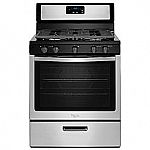 Whirlpool WFG505M0BS 5.1 cu. ft. Gas Range w/ Griddle $425