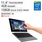 Acer Switch 11 V Touchscreen 2-in-1 Laptop (Core M 4GB 128GB SSD) $320