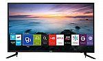 Samsung UN40JU6100 40-Inch 4K Ultra HD Smart TV $400