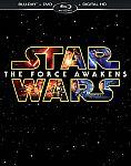 Star Wars: The Force Awakens Blu-ray/DVD/Digital HD $17