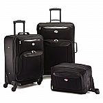 American Tourister Brookfield 3 PC Luggage Set $55