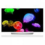 """55"""" LG 55EF9500 OLED 4K UHD Smart 3D TV $1850"""
