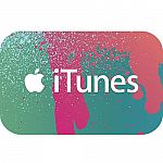 $50 iTunes Gift Card $40, and more