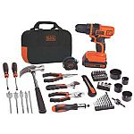 Black & Decker 20-Volt Max Lithium-Ion Drill and Project Kit $60