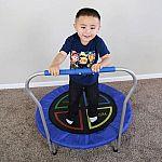 """Skywalker Trampolines Bounce-N-Learn 36"""" Round Trampoline Bouncer $29"""