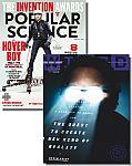 Wired + Popular Science Magazine $7.99/yr