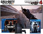 PS4 500GB Call of Duty: Black Ops III Bundle + Uncharted 4: A Thief's End $359