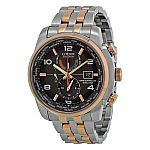 Citizen Men's AT9016-56H Eco Drive World Time A-T Grey Dial Watch