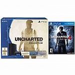 PlayStation 4 Uncharted Nathan Drake 500GB Bundle + Uncharted 4: A Thief's End $349