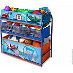 Disney by Delta Children Planes Metal Multi-Bin Toy Organizer $18