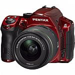 Pentax K-30 Weatherproof 16MP CMOS Sensor Digital SLR Camera with 18-55mm Lens $329