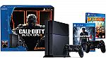 Sony Playstation 4 (PS4) 500GB COD Black Ops III bundle + Uncharted 4 + Battleborn + extra controller $429