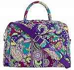 Vera Bradley Weekender Travel Bag $45