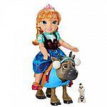 Kohls Cardholders: Disney's Frozen Toddler Anna & Sven Set $9.80 (reg. $70)