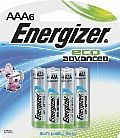 50% Off Select Energizer EcoAdvanced Batteries