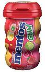 Mentos Gum Big Bottle Curvy, Tropical Red Fruit/Lime, 45 Pieces $1.75