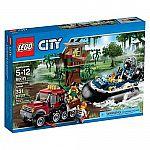 LEGO City Police Hovercraft Arrest 60071 $28.74