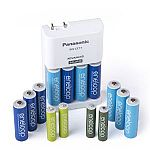 Panasonic Eneloop Power Pack for 10AA, 4AAA Colored Cells Battery Charger $26
