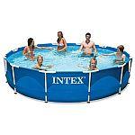 Intex 12ft X 30in Metal Frame Pool Set $96