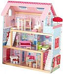 KidKraft Chelsea Doll Cottage with Furniture $59