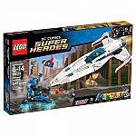 LEGO Super Heroes Darkseid Invasion $42, Creator Sunset Speeder $8.39
