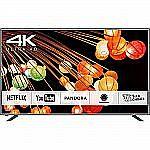 Panasonic 65-Inch 4K Ultra HD Smart TV CX420 Series (Silver) - TC-65CX420U $999
