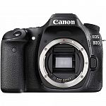 Canon EOS 80D CMOS DSLR Camera Body $899