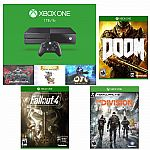 Xbox One 1TB Holiday Bundle + Doom + Fallout 4 + Tom Clancy's The Division $399