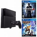 PlayStation 4 500GB Console Uncharted 4: A Thief's End, Ratchet Clank $369