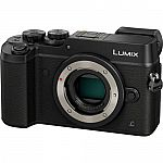 Panasonic Lumix DMC-GX8 Mirrorless Micro Four Thirds 4K Camera Body $799