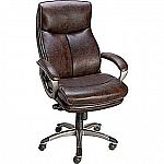 Staples Eckert Bonded Leather Mid-Back Office Chair $64.49
