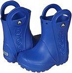 Kids' Handle It Rain Boot $15, Women's Rhonda Wedge $20, Mellen and Patricia Sandals $20 and more